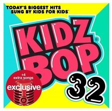 Kidz Bop 32 Target Exclusive Audio CD Bonus Tracks NEW
