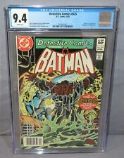 DETECTIVE COMICS #525 (Killer Croc appearance) CGC 9.4 NM DC 1983 Batman