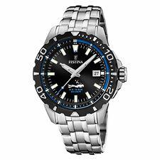 Festina Men's The Originals F20461-4F37 Black Stainless-Steel Quartz Dress Watch