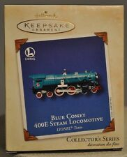 Hallmark - Blue Comet 400E Steam Locomotive 7th in Series Lionel Train Ornament