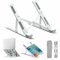 Foldable Notebook Tablet Lazy Holder Adjustable Aluminum Laptop Stand Portable