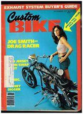 CUSTOM BIKE NOVEMBER 1977 NORCAL DIGGERS 70's CUSTOM BIG BIKE STREET CHOPPERS