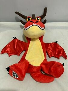 MONSTROUS NIGHTMARE HOW TO TRAIN YOUR DRAGON LIMITED EDITION BUILD A BEAR RARE
