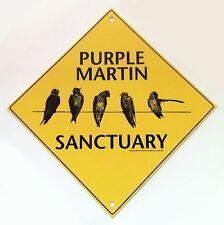 Purple Martin Sanctuary Sign