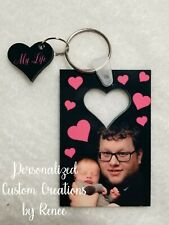 NEW personalized Double Sided Key Chains