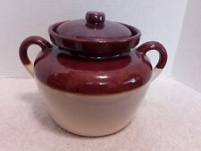 Mc Coy Bean Pot with Lid  #342 Ovenproof USA Excellent Condition