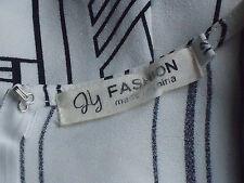FLY FASHION 65%CottonBlendPocketedOpen2waistStripedShortalls12