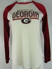 University of Georgia G-III Touch Women's Velvet Long Sleeve Shirt NCAA