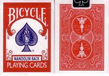 BICYCLE 809 MANDOLIN BACK RED DECK OF PLAYING CARDS USPCC POKER MAGIC TRICKS
