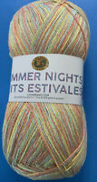 Lion Brand Summer Nights Bonus Bundle; Sunset 512-312 Super Fine; 875 Yds