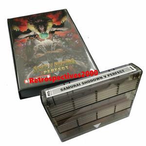 Snk Cartridge MVS samurai shodown v perfect Snk cartridge With Schockbox Custom