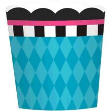 MAD HATTER TEA PARTY SMALL PAPER CUPS (24) ~ Birthday Supplies Cake Dessert Blue