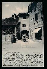 Austria MERAN Passeirergasse Used 1904 u/b PPC