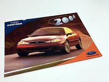 2000 Ford Contour Information Sheet Brochure - Mexican Market