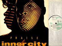 "INNER CITY praise LP EX+/VG+ DIX 107, with a free 12"" single, vinyl, album, 1992"