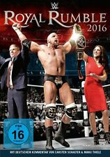 DVD *  WWE - ROYAL RUMBLE 2016  # NEU OVP &