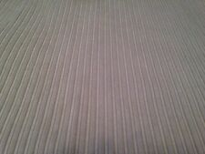 Silver/ Light Grey Skinny Jumbo Cord Upholstery Fabric, Free P+P