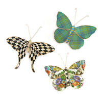 MacKenzie-Childs Butterfly Trio - Pond