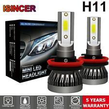 H11 LED Headlight Bulbs Conversion Kit CREE 1200W 180000LM 6000K Hi/Lo beam Lamp