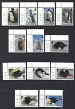 BRITISH ANTARCTIC TERRITORY 2018 PENGUINS AND CHICKS SET OF 12 FINE USED