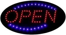 New FlashingBoards B10219 Led Motion Business Shop Neon Light Sign, Oval Open