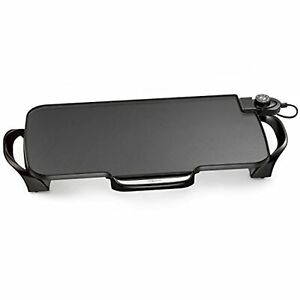 Presto 07061 22-inch Electric Griddle With Removable Handles Black Very Good