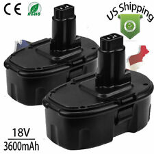 2pack Upgraded 18V for DeWalt Dc9096-2 18 Volt Xrp Battery Dw9095 Dc9098 Dc9099