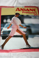 Original 70er Jahre Aniane Nylons Strumpfhose Gr. 42 Flanell 20Den Vintage Retro