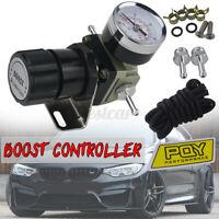 T2 Universal CAR Adjustable Manual Gauge Turbo Boost Controller 1-150 PSI