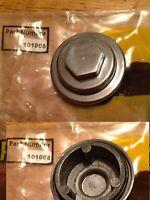 TWO Yamaha YBR125 Tappet Cover 45MM  (REF:5VLE118610 5VL-E1186-00) (PAIR)