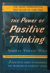 The Power of Positive Thinking Norman Vincent Peale Book Club 1952