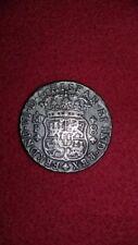 Mexico 1748 Ferdnd VI Pillar Dollar 8 Reales Silver Crown