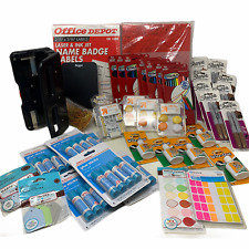 Mixed Wholesale Lot Home Office School Supplies Sharpie Moleskine Martha New
