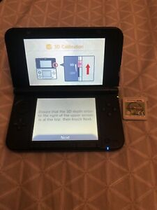 NINTENDO 3DS XL SKY BLUE CONSOLE WITH MARIO TENNIS GAME