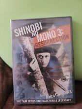 Shinobi No Mono 3: Resurrection DVD 2009 Widescreen Animeigo Ninja