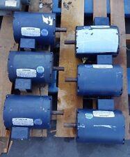 Lot of 1 LEESON 1HP AC MOTOR 120010.00 C143T17DB1B 208-230/460VAC 1740/1440RPM
