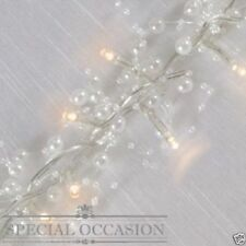 Special Occasion 30 Pearl White LED Decorative String Fairy Lights Battery