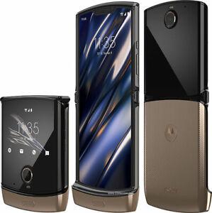 Motorola MOto RAZR 128GB Noir Black Folding Flip (Verizon) Smartphone Excellent