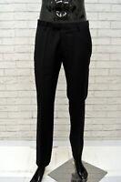 Pantalone Classico Uomo Nero JOOP Taglia 44 Jeans Gamba Dritta Chino Pants Man
