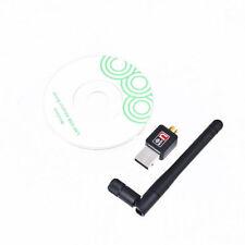 150Mbps 802.11N/G/B USB 2.0 WiFi Antenna Wireless Network LAN Card Adapter New