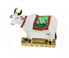 Traditional Cow Car/Home/Office/Mandir Hindu God Statue/Idol