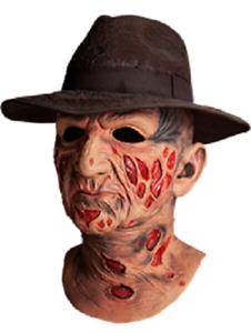 Nightmare on Elm Street Freddy Krueger with hat Delux Latex Mask Trick or Treat