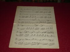 "[AUTOGRAPH MANUSCRIPT NORDIC MUSIC 19e] H.C. LUMBYE ""Nyeste Galop"" ms 2pp.signed"