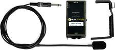 K&K Sound Meridian External Mount Clamp-on Condenser Mic Guitar Microphone, Case