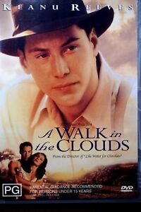 A Walk In The Clouds DVD Keanu Reeves Drama Movie - AUSTRALIAN REGION 4