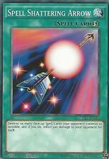 YU-GI-OH CARD: SPELL SHATERING ARROW - YGLD-ENA28 - 1st EDITION