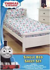 Thomas the Tank Engine Bed Sheet Set Boys Kids Single Bed Licensed