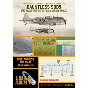 1 Man Army 1man32DET014 WH SBD-5 Dauntless 1/32
