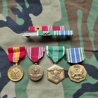 US Army Orden Konvolut Medal Set Starter Set 4 Stück mit Ribbons und Holder