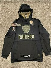 AUTHENTIC Nike 2020 Las Vegas Raiders Salute to Service Hoodie ALL SIZES
